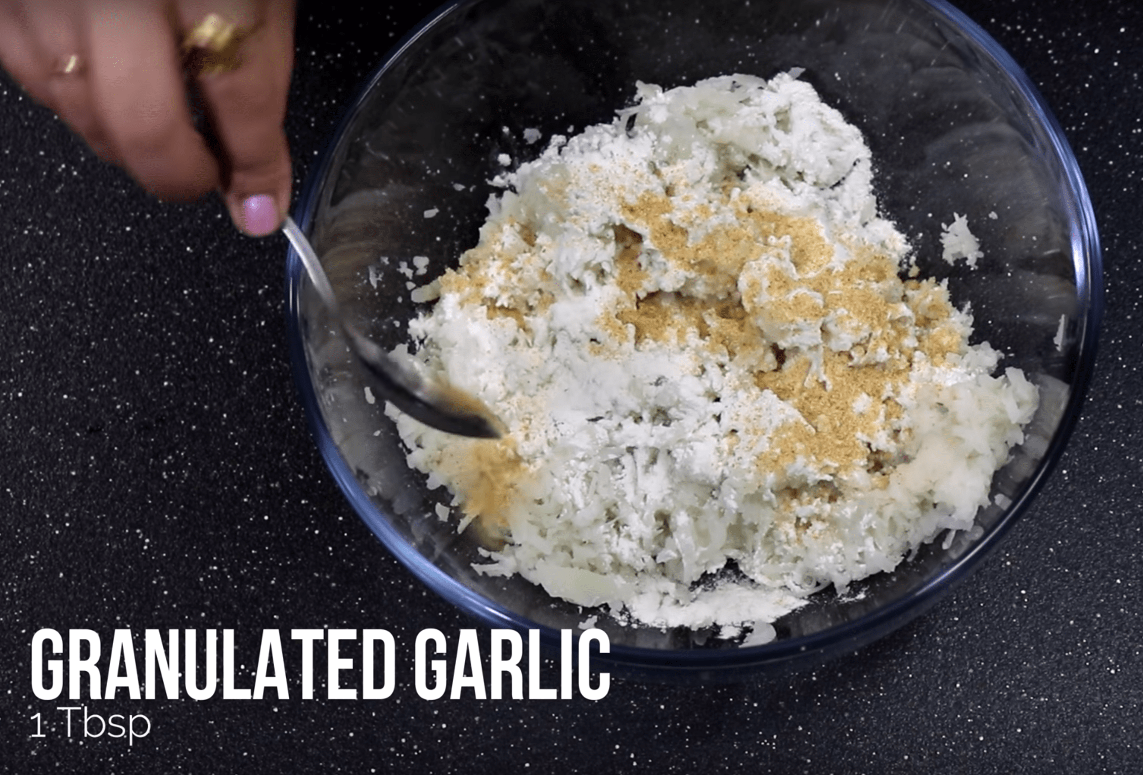 Add 1 Tbsp Granulated Garlic for Tater Tots Recipe