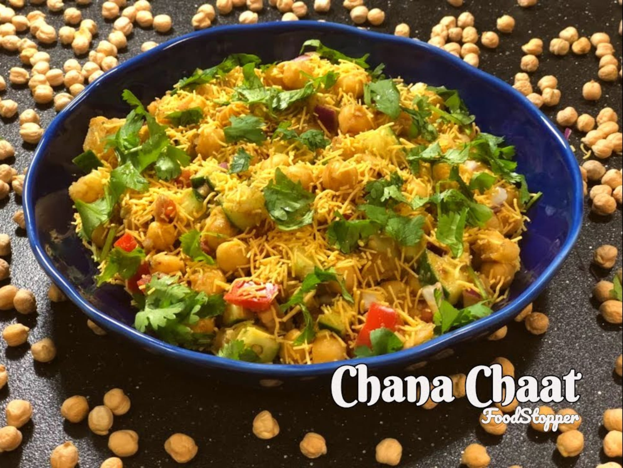 Chana Chaat Chickpea Recipe