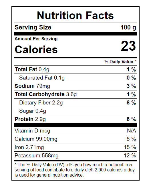 Spinach-Nutritional-Value calories in spinach