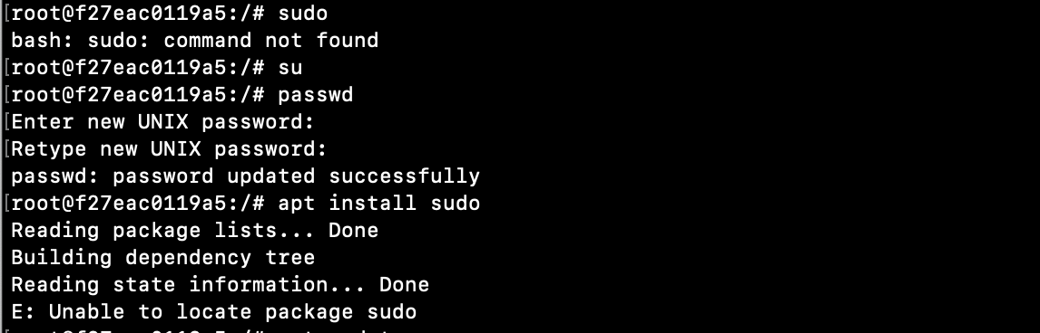 Sudo not found linux and unix